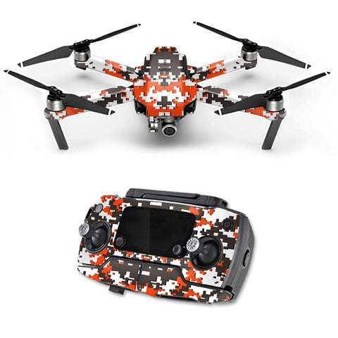Digital Camo Cleveland Browns DJI Mavic Pro Skin