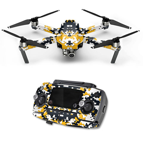 Digital Camo Pittsburgh Steelers DJI Mavic Pro Skin
