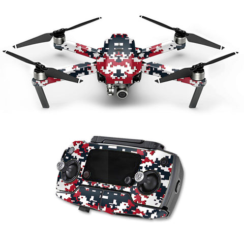 Digital Camo Houston Texans DJI Mavic Pro Skin