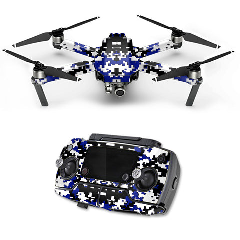Digital Camo Indianapolis Colts DJI Mavic Pro Skin