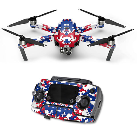 Digital Camo Buffalo Bills DJI Mavic Pro Skin