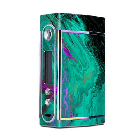 Paint Swirls Abstract Watercolor Too VooPoo Skin
