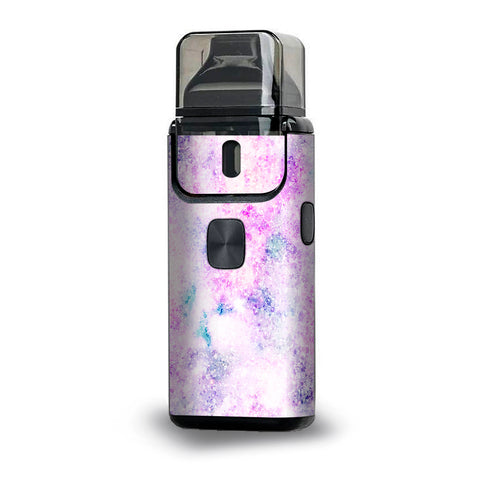 Pastel Crystals Pink Purple Pattern Aspire Breeze 2 Skin