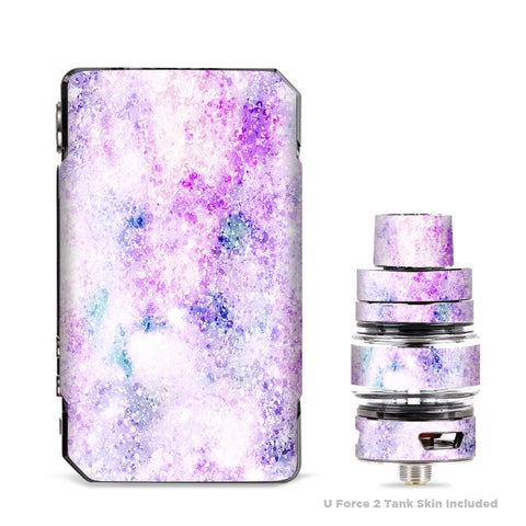 Pastel Crystals Pink Purple Pattern VooPoo Drag Mini Skin