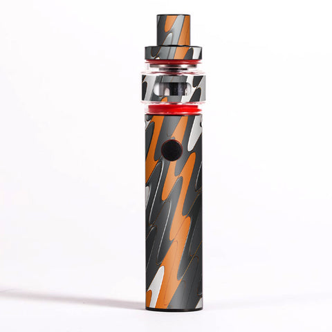 Puzzle Orange Grey Trippy Smok Pen 22 Light Edition Skin