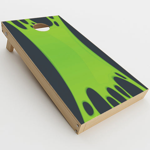 Stretched Slime Green  Cornhole Game Board (2 pcs.) Skin