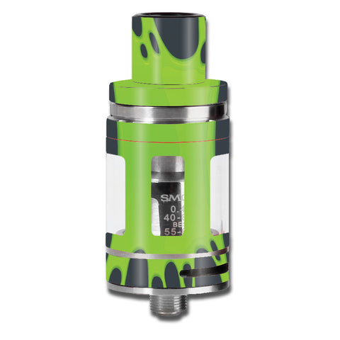 Stretched Slime Green Smok TFV8 Micro Baby Beast  Skin