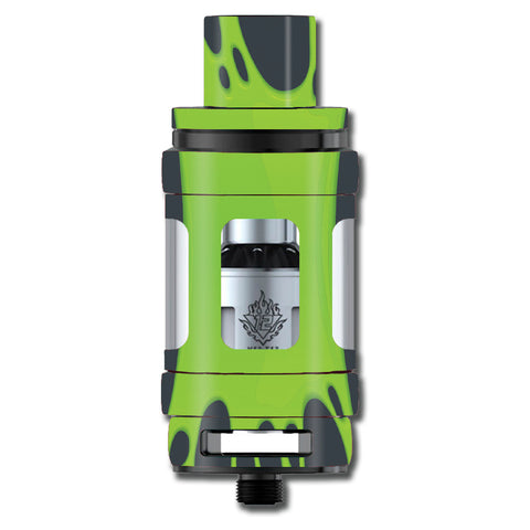 Stretched Slime Green Smok TFV12 Cloud King Beast  Skin