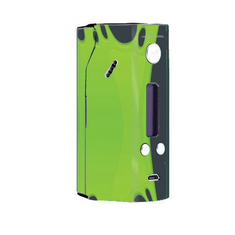 Stretched Slime Green Wismec Reuleaux RX200 Skin