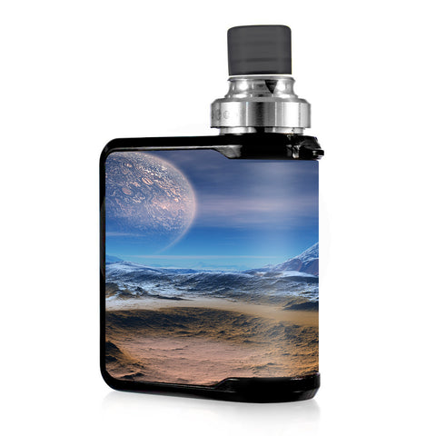 Space Planet Moon Surface Outerspace Mvape Mi-One Skin