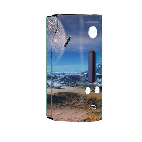 Space Planet Moon Surface Outerspace Wismec Reuleaux RX200 Skin