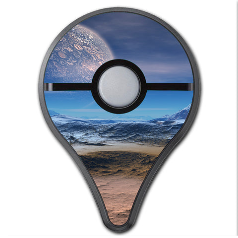 Space Planet Moon Surface Outerspace Pokemon Go Plus Skin