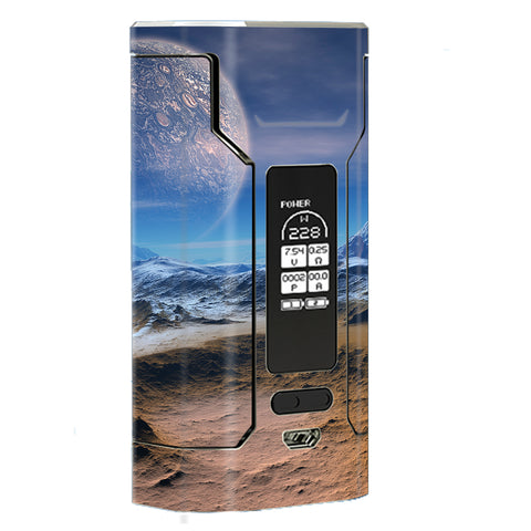 Space Planet Moon Surface Outerspace Wismec Predator 228W Skin