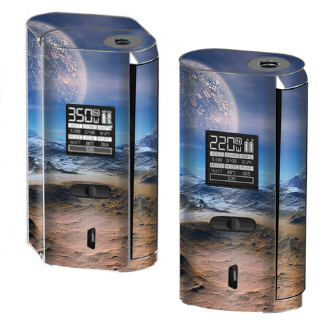 Space Planet Moon Surface Outerspace Smok GX2/4 Skin