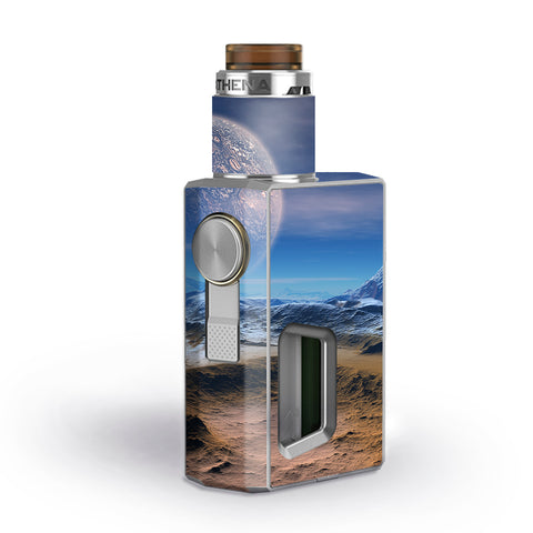 Space Planet Moon Surface Outerspace Geekvape Athena Squonk Skin