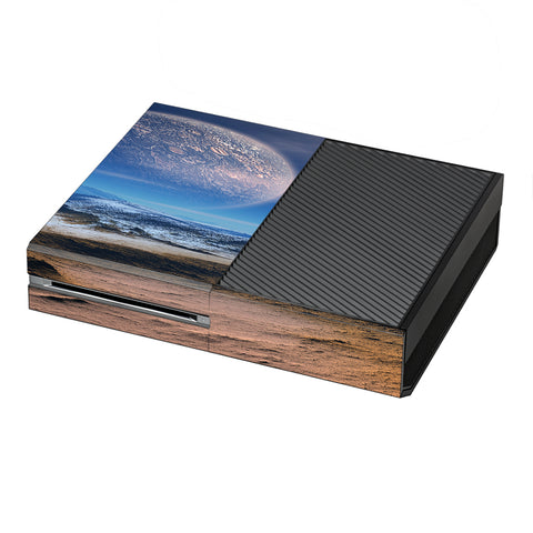 Space Planet Moon Surface Outerspace Microsoft Xbox One Skin