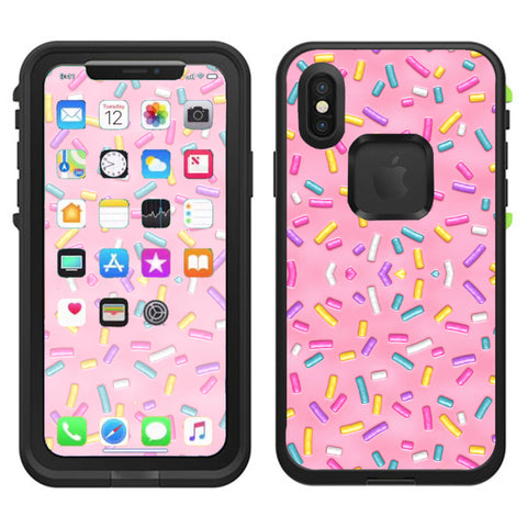 Sprinkles Cupcakes Ice Cream Lifeproof Fre Case iPhone X Skin