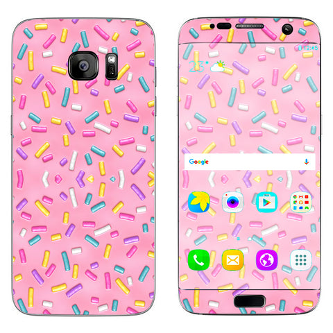 Sprinkles Cupcakes Ice Cream Samsung Galaxy S7 Edge Skin