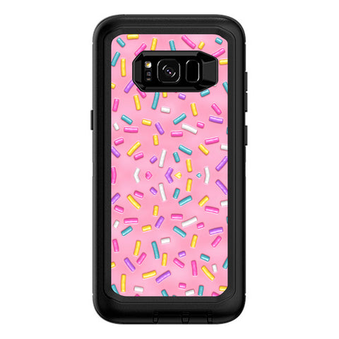 Sprinkles Cupcakes Ice Cream Otterbox Defender Samsung Galaxy S8 Plus Skin