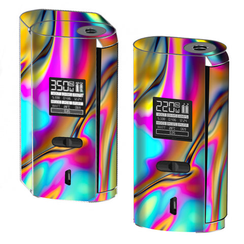 Oil Slick Resin Iridium Glass Colors Smok GX2/4 Skin