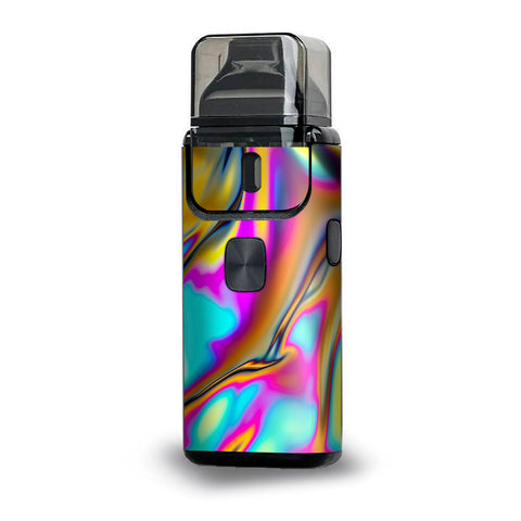 Oil Slick Resin Iridium Glass Colors Aspire Breeze 2 Skin