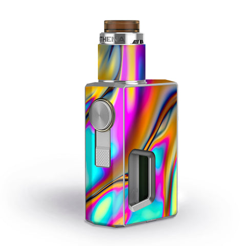 Oil Slick Resin Iridium Glass Colors Geekvape Athena Squonk Skin