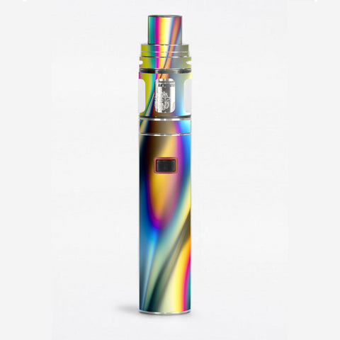 Oil Slick Rainbow Opalescent Design Awesome Smok Stick X8 Skin