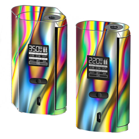 Oil Slick Rainbow Opalescent Design Awesome Smok GX2/4 Skin