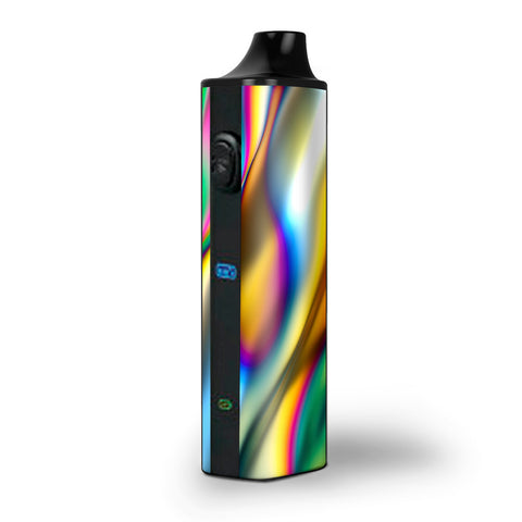 Oil Slick Rainbow Opalescent Design Awesome Pulsar APX Skin