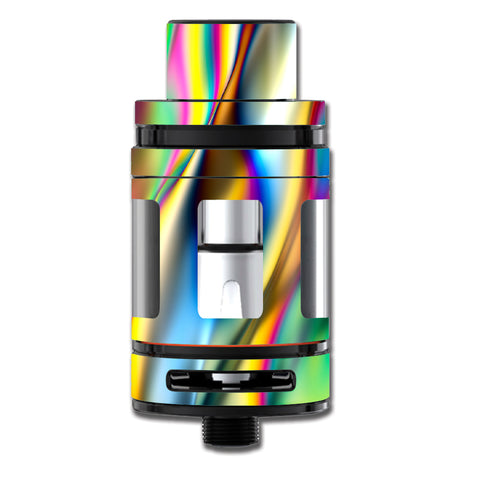 Oil Slick Rainbow Opalescent Design Awesome Smok TFV8 Big Baby Beast  Skin