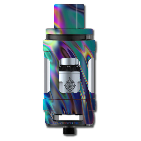 Oil Slick Opal Colorful Resin  Smok TFV12 Cloud King Beast  Skin