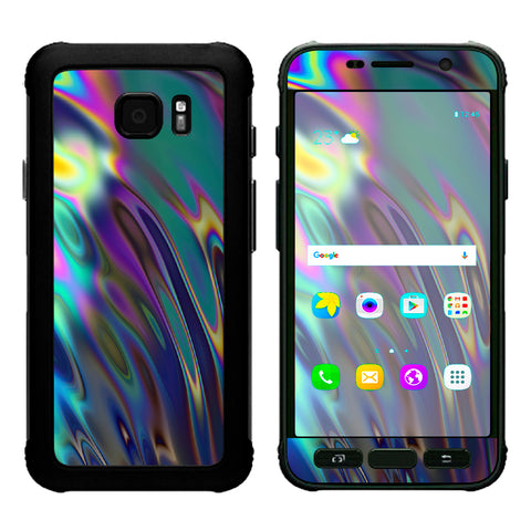 Oil Slick Opal Colorful Resin  Samsung Galaxy S7 Active Skin