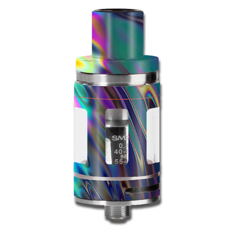 Oil Slick Opal Colorful Resin  Smok TFV8 Micro Baby Beast  Skin