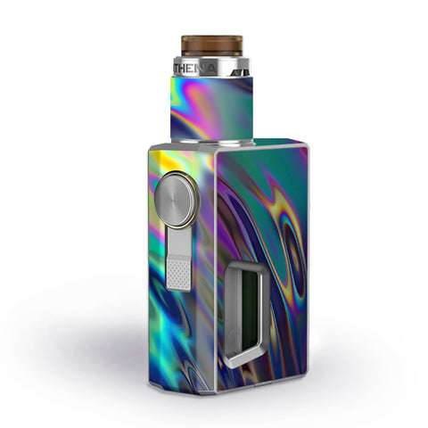 Oil Slick Opal Colorful Resin  Geekvape Athena Squonk Skin