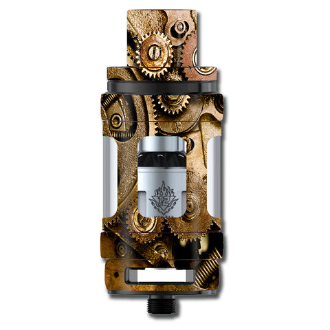 Steampunk Gears Steam Punk Old Smok TFV12 Cloud King Beast  Skin
