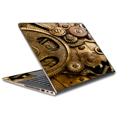 Steampunk Gears Steam Punk Old HP Spectre x360 13t Skin