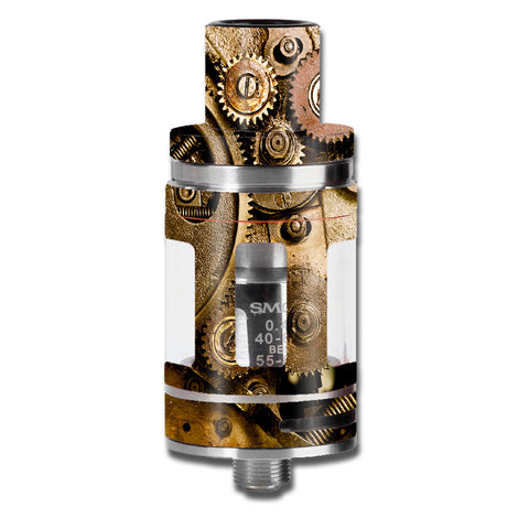 Steampunk Gears Steam Punk Old Smok TFV8 Micro Baby Beast  Skin