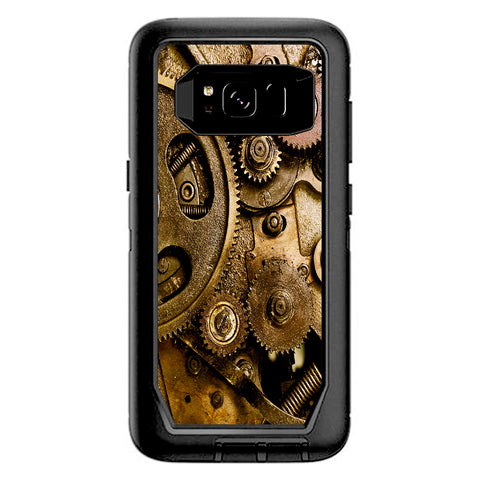 Steampunk Gears Steam Punk Old Otterbox Defender Samsung Galaxy S8 Skin