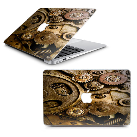 "Steampunk Gears Steam Punk Old Macbook Air 11"" A1370 A1465 Skin"