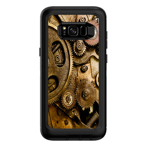 Steampunk Gears Steam Punk Old Otterbox Defender Samsung Galaxy S8 Plus Skin