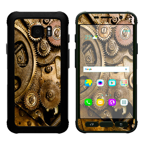 Steampunk Gears Steam Punk Old Samsung Galaxy S7 Active Skin