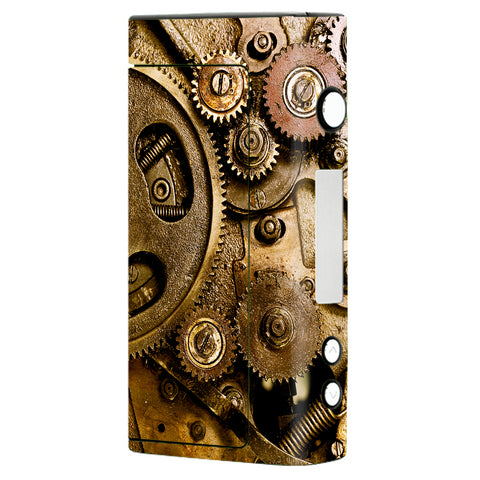 Steampunk Gears Steam Punk Old Sigelei Fuchai 200W Skin