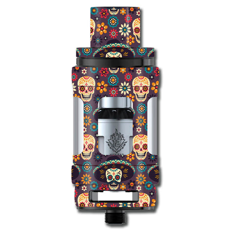 Sugar Skulls Sombrero Day Of The Dead Smok TFV12 Cloud King Beast  Skin