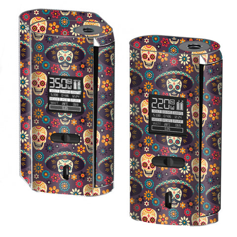Sugar Skulls Sombrero Day Of The Dead Smok GX2/4 Skin
