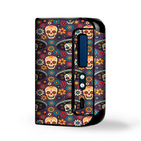 Sugar Skulls Sombrero Day Of The Dead Smok Osub King Skin