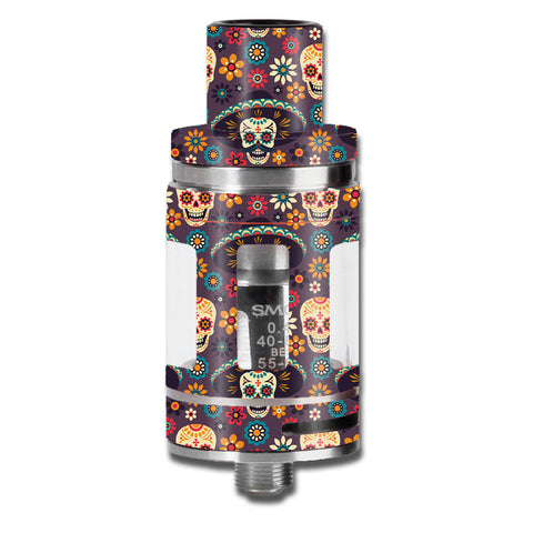 Sugar Skulls Sombrero Day Of The Dead Smok TFV8 Micro Baby Beast  Skin