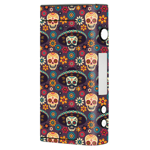 Sugar Skulls Sombrero Day Of The Dead Sigelei Fuchai 200W Skin