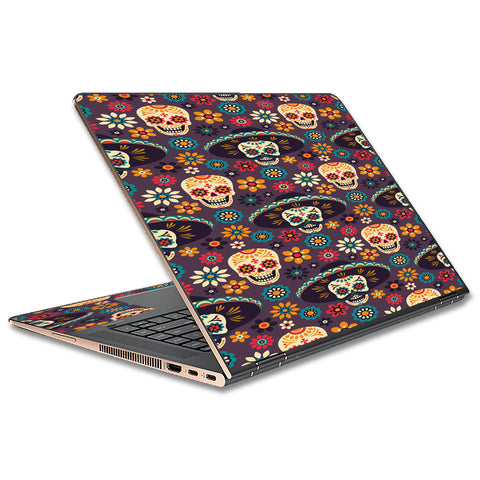 Sugar Skulls Sombrero Day Of The Dead HP Spectre x360 15t Skin