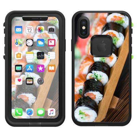 Sushi California Roll Japanese Food  Lifeproof Fre Case iPhone X Skin