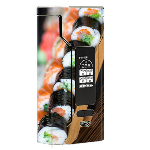 Sushi California Roll Japanese Food  Wismec Predator 228W Skin